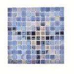 azulejo en mosaico en cristal reciclado