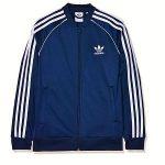 chaqueta deportiva diseñada en poliéster reciclado marca Adidas
