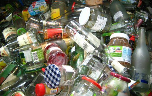 reciclado de vidrios