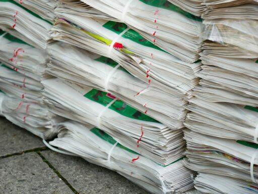 reciclar papel y cartón