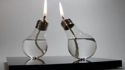 adornos con bombillas