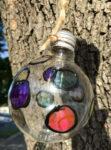 creaciones con bombillas recicladas