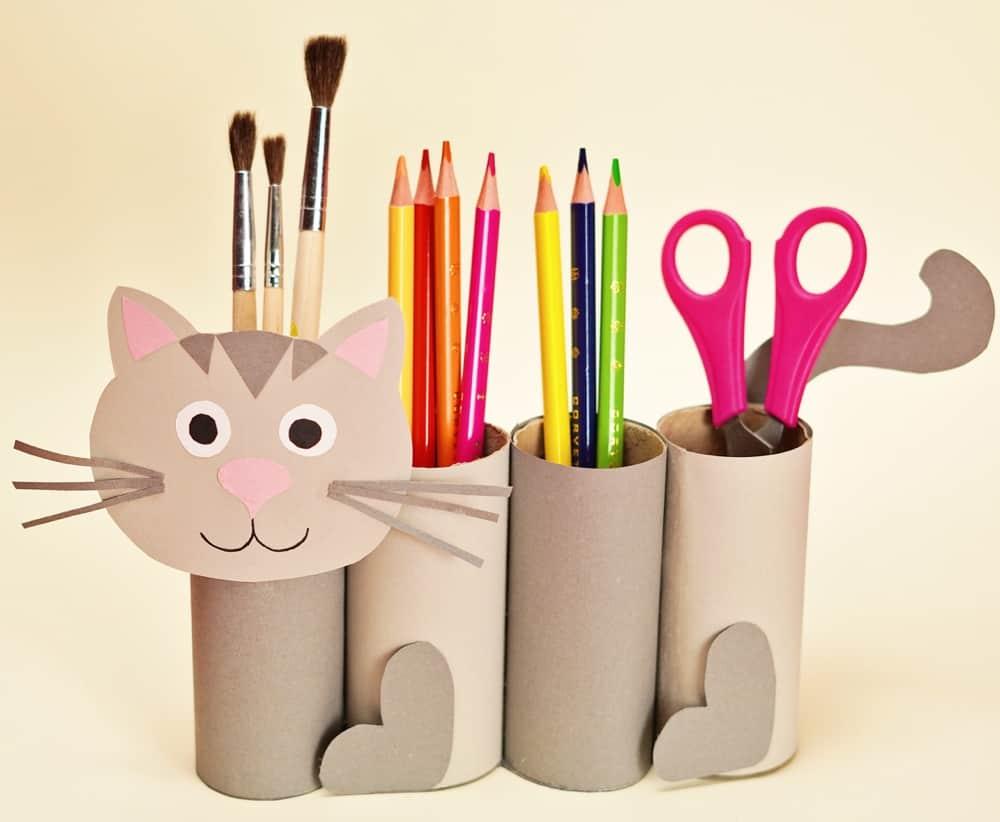 regalos reciclados originales y reciclaje para niños