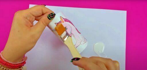 manualidades con tubos de papel higiénco