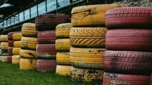 reciclado de neumáticos usados